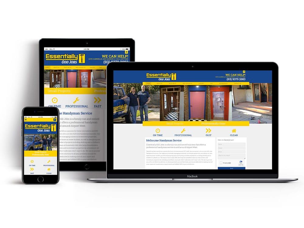 airport west website design