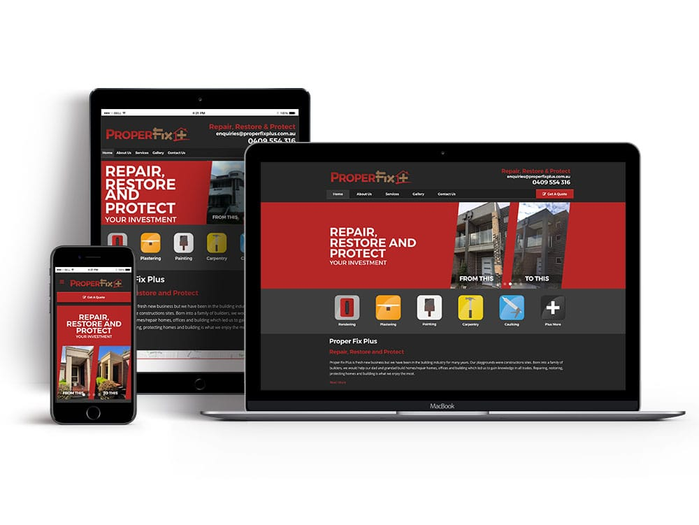 Caroline Springs Website Design